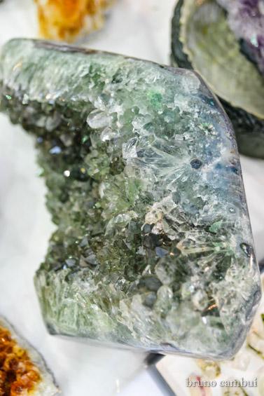 druza ametista verde