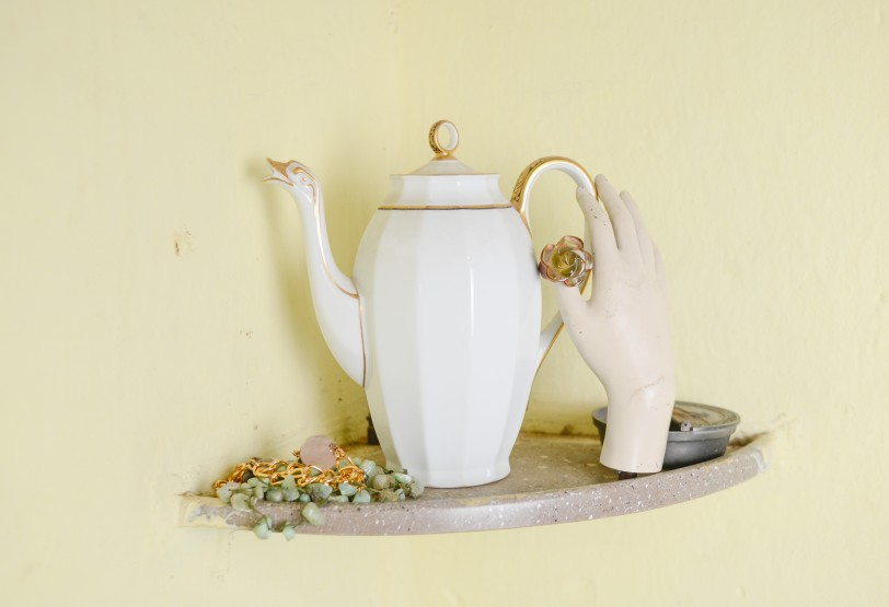bule antiguidade porcelana