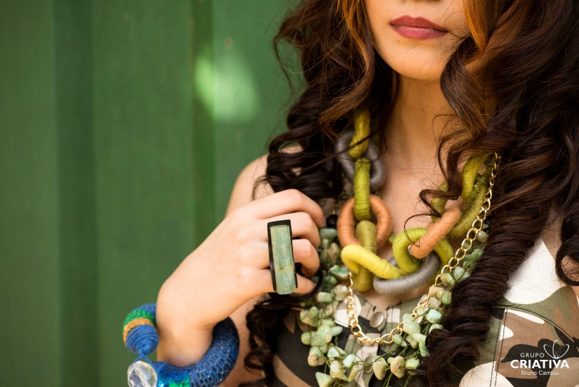 anel torii agua marinha e colares ar essencial joias